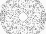 Difficult Mandala Coloring Pages Printable Image Free Printable Difficult Mandala Coloring Pages for Adults