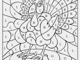 Difficult Thanksgiving Coloring Pages Fall Coloring Pages Color by Number Thanksgiving