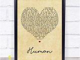 Digitally Printed Wall Murals Amazon Human Vintage Heart song Lyric Wall Art Quote