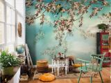 Dining Room Wall Mural Ideas Bedroom Feature Floral Wallpaper Buy