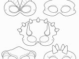 Dinosaur Feet Coloring Pages Dinosaurs Printable Coloring Masks Dinosaur Masks Triceratops Mask