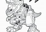 Dinosaur Power Ranger Coloring Pages Red Zord Download them All