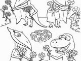 Dinosaur Train Coloring Pages Printable Train Free Clipart 78