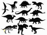 Dinosaur Wall Mural Stencils Dinosaur Svg Dinosaur Monogram Prehistoric Dinosaur Svg