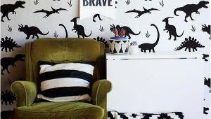 Dinosaur Wall Mural Stencils Jurassic Park Dinosaurs Wall Mural Stencils for Kids Room or