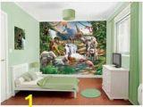 Dinosaur Wall Mural Uk Buy Walltastic Jungle Adventure Wall Mural at Argos