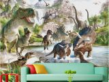 Dinosaur Wall Mural Uk Mural 3d Wallpaper 3d Wall Papers for Tv Backdrop Dinosaur World Background Wall Murals Decorative Painting Uk 2019 From Yiwuwallpaper Gbp ï¿¡17 09