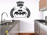Dinosaur Wall Mural Uk Tzxdbh Bakery Shop Logo Wall Sticker Bakeshop Decor Kitchen