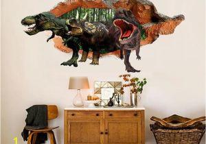 Dinosaurs Murals Walls 3d Dinosaurs 30 Broken Wall Murals In 2019