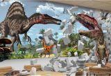 Dinosaurs Murals Walls Wall Background Wallpaper Diamond Custom 3d Wall Mural Wallpaper