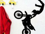 Dirt Bike Wall Murals Dirt Bike Mx Motocross Motocykl Naklejka Naklejka Vinyl Mural