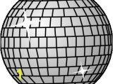 Disco Ball Coloring Page Disco Ball Clip Art Vector Clip Art Online Royalty Free & Public