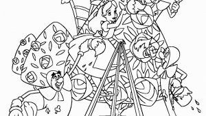 Disney Alice In Wonderland Coloring Pages Alice and Wonderland Club Cards Coloring Pages
