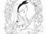 Disney Alice In Wonderland Coloring Pages Pin On Coloring Pages Printables