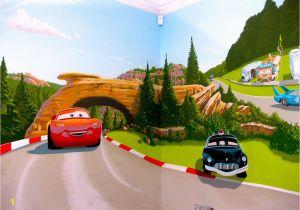 Disney Cars Murals Cars Mural My Practice In 2019 Pinterest