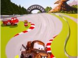 Disney Cars Race Track Mini Wall Mural 24 Best Cars Mural Images