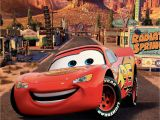 Disney Cars Wall Mural Lighting Mcqueen Wallpapers Hd Wallpaper Collections