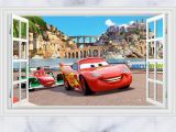 Disney Cars Wall Murals Disney Cars Lightning Mcqueen Wall Stickers