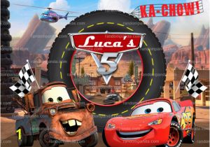 Disney Cars Wall Murals Personalize Kids Poster Lightning Mcqueen Poster Disney Cars Party
