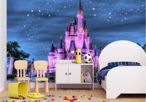 Disney Castle Mural Wallpaper Beibehang Custom Wallpaper Home Decor 3d Mural Fantasy Star Castle