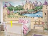 Disney Castle Wall Mural Enchanted Kingdom Wall Mural