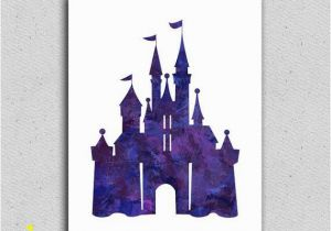 Disney Castle Wall Murals Disney Castle Art Print Disney Castle Decor Disney Wall Art