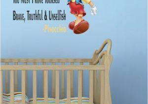 Disney Character Wall Murals Nursery Quote