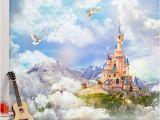 Disney Cinderella Castle Wall Mural Disney Fototapete 🌱 Komar Disney Fototapete Cars Neon 254