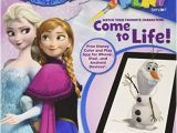 Disney Color and Play Coloring Pages Disney Frozen Bendon 5 In 1 Coloring and Activity Book