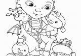 Disney Coloring Pages Doc Mcstuffins Doc Mcstuffins Friends Coloring Pages for Kids Printable