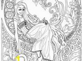 Disney Coloring Pages for Adults Pdf 16 Best Rapunzel Coloring Pages Images In 2020