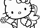 Disney Coloring Pages Hello Kitty Hello Kitty Fairy Coloring Pages with Images