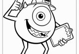 Disney Coloring Pages Monsters Inc Printable the Monster Inc Coloring Pages En 2020