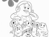 Disney Coloring Pages Monsters Inc Waternoose Coloring Pages Hellokids