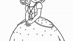 Disney Coloring Pages sofia the First sofia the First Coloring Pages for Kids Printable Free