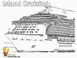 Disney Cruise Line Coloring Pages Carnival Coloring Cruise Pages Ship 2020