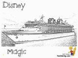 Disney Cruise Line Coloring Pages Spectacular Cruise Ship Coloring Cruises Free