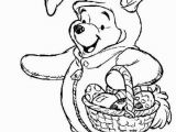 Disney Easter Coloring Pages for Kids Winnie the Pooh Easter Coloring Pages Winnie the Pooh