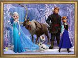 Disney Frozen Wall Mural Wall Sticker Frozen Self Adhesive Vinyl Decal Poster