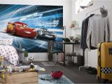 Disney Full Wall Murals Cars 3 Disney Photo Wallpaper In 2019 Boys Room