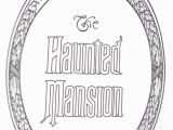 Disney Haunted Mansion Coloring Pages Disney Haunted Mansion Coloring Pages