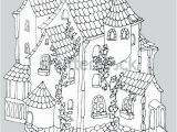 Disney Haunted Mansion Coloring Pages Mansion Coloring Pages Luigis Haunted Fairy Tale Ancient