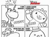 Disney Junior Doc Mcstuffins Coloring Pages Doc Mcstuffins Character Colouring Page