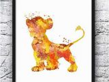 Disney Lion King Wall Murals Lion King Poster Print Simba Poster Home Lion King Wall