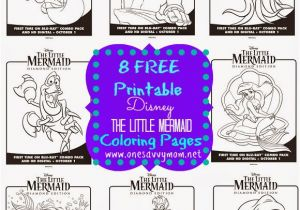 Disney Little Mermaid Coloring Pages Free E Savvy Mom ™