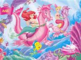 Disney Little Mermaid Wall Mural Little Mermaid Disney Fantasy Animation Cartoon Adventure