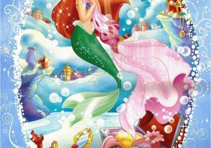 Disney Little Mermaid Wall Mural the Little Mermaid Wallpaper