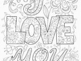 Disney Mothers Day Coloring Pages Doodle Love You Colouring Doodles to Color Pinterest Doodles