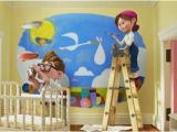 Disney Painted Wall Murals I Love This Wall Mural From the Movie Up