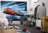 Disney Pixar Cars Wall Mural Cars 3 Disney Photo Wallpaper In 2019 Boys Room